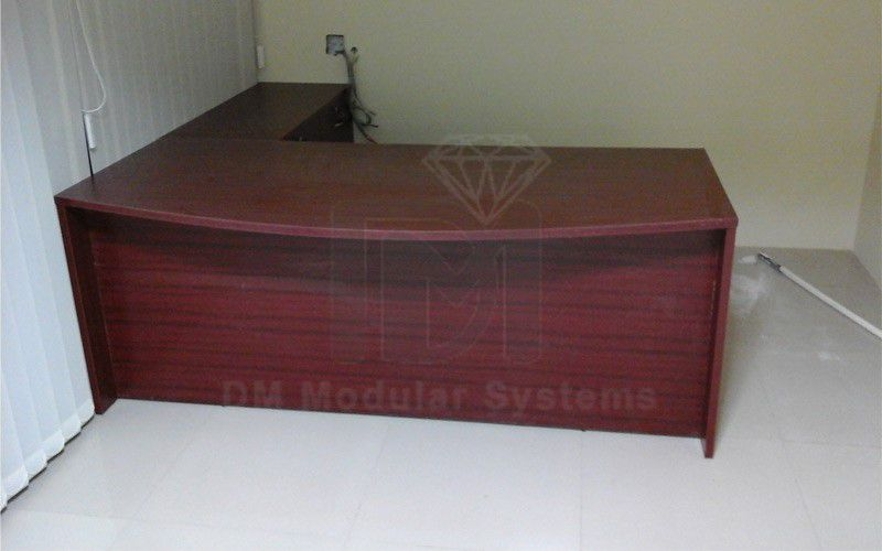 Other Home Furnitures Bangalore Furniture Manufacturers: Manager's Office Desk Manufacturers